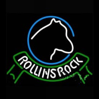 Rolling Rock Horsehead Ribbon Neon Sign