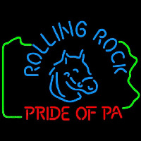 Rolling Rock Pride Of Pa Beer Sign Neon Sign