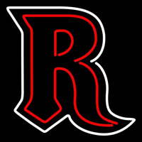 Rutgers Scarlet Knights Alternate 1995 2000 Logo NCAA Neon Sign Neon Sign