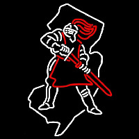 Rutgers Scarlet Knights Alternate 1995 Pres Logo NCAA Neon Sign Neon Sign