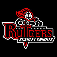 Rutgers Scarlet Knights Primary 1995 2000 Logo NCAA Neon Sign Neon Sign
