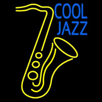 Sa ophone Cool Jazz Neon Sign