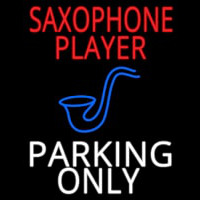 Sa ophone Player Parking Only 2 Neon Sign