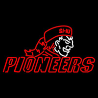 Sacred Heart Pioneers Alternate 2004 Pres Logo NCAA Neon Sign Neon Sign
