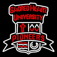 Sacred Heart Pioneers Primary 2004 Pres Logo NCAA Neon Sign Neon Sign