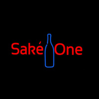 Sake One With Bottle Neon Sign