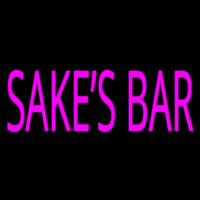 Sakes Bar Neon Sign