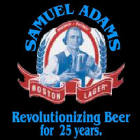 Samual Adams Revolutionizing Beer Sign Neon Sign