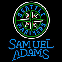 Samual Adams Singleline Seattle Mariners MLB Beer Sign Neon Sign