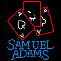 Samuel Adams Ace And Poker Beer Sign Neon Sign