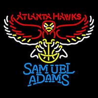 Samuel Adams Atlanta Hawks NBA Beer Sign Neon Sign