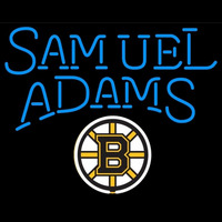 Samuel Adams Boston Bruins Nhl Beer Sign Neon Sign