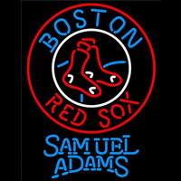 Samuel Adams Boston Red Sox MLB Beer Sign Neon Sign