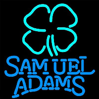 Samuel Adams Clover Beer Sign Neon Sign