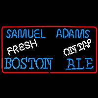 Samuel Adams Fresh Boston Ale On Tap Beer Sign Neon Sign