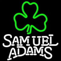 Samuel Adams Green Clover Neon Sign