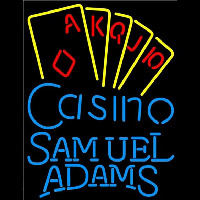 Samuel Adams Poker Casino Ace Series Beer Sign Neon Sign