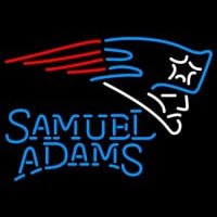 Samuel Adams Single Line Neon Sign