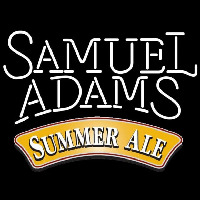 Samuel Adams Summer Ale White Beer Sign Neon Sign