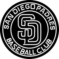 San Diego Padres MLB Logo Neon Sign Neon Sign