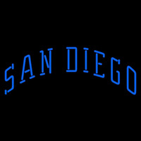 San Diego Padres Wordmark 1991 1998 Logo MLB Neon Sign Neon Sign