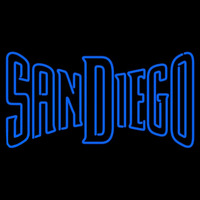 San Diego Padres Wordmark 2004 2010 Logo MLB Neon Sign Neon Sign