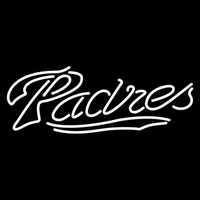 San Diego Padres Wordmark 2004 Pres Logo MLB Neon Sign Neon Sign
