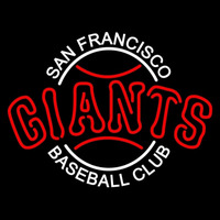 San Francisco Giants Alternate 2000 Pres Logo MLB Neon Sign Neon Sign