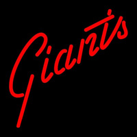 San Francisco Giants Wordmark 1977 1982 Logo MLB Neon Sign Neon Sign