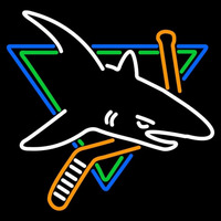 San Jose Sharks Logo NHL Neon Sign Neon Sign