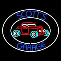 Scotts Garage Neon Sign