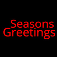 Seasons Greetings Neon Sign