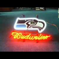 Seattle Seahawks Football Neon Sign Neon Sign