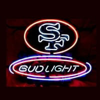 Sf San Francisco 49Ers Football Neon Sign Neon Sign