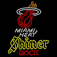 Shiner Miami Heat NBA Beer Sign Neon Sign