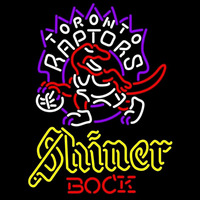 Shiner Toronto Raptors NBA Beer Sign Neon Sign