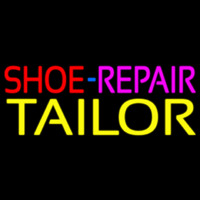 Shoe Repair Tailor Neon Sign