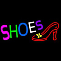Shoes With Sandal Neon Sign