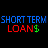 Short Term Loans Neon Sign