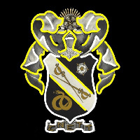 Sigma Nu Chapters Logo Neon Sign