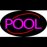 Simple Pool Neon Sign