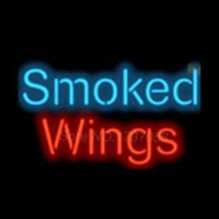 Smoked Wings Neon Sign