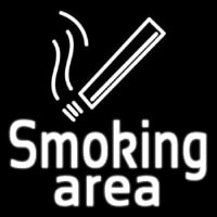 Smoking Area Neon Sign
