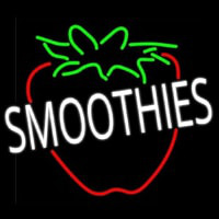 Smoothies Logo Neon Sign