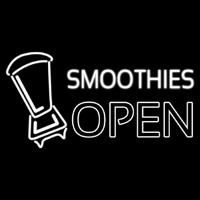 Smoothies Open Neon Sign