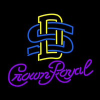 South Dakota State University Logo with Crown Royal Logo Neon Sign Neon Sign