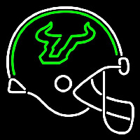 South Florida Bulls Helmet 2003 Pres Logo Ncaa Neon Sign Neon Sign