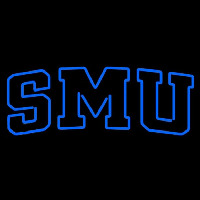 Southern Methodist Mustangs Wordmark 1978 2007 Logo Ncaa Neon Sign Neon Sign
