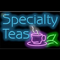 Specialty Teas Cafe Neon Sign