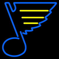 St Louis Blues Primary 1967 68 1977 78 Logo NHL Neon Sign Neon Sign
